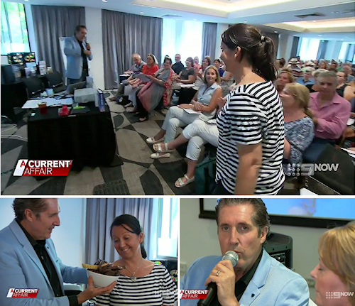 Watch ACA program featuring Mark Stephens at Free You and your Goal Seminar in Sydney, December 2018